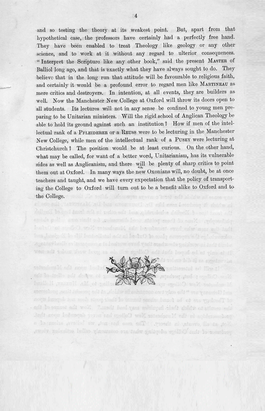 pamphlet page